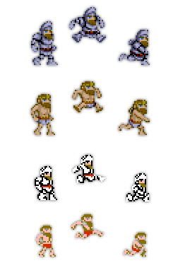 ghouls n ghosts version differences