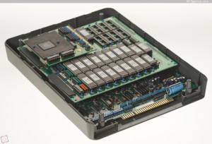 A standard CP System board in a standard arcade shell.