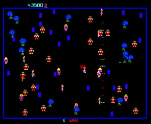 Robotron, released in 1982.